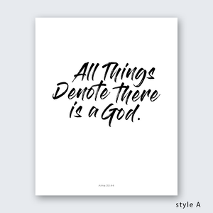Quote - All Things Denote