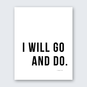 Quote - Go & Do