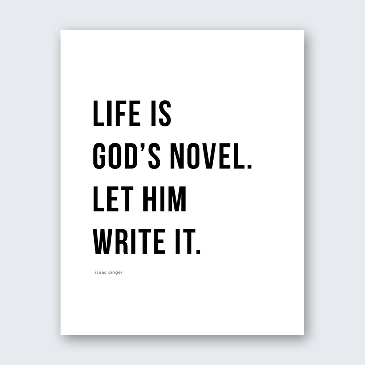 Quote - God's Novel