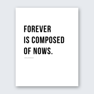 Quote - Forever is Now