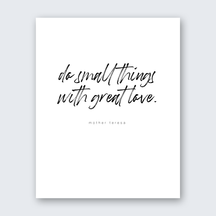 Quote - With Great Love