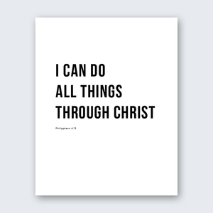 Quote - All Things Through Christ