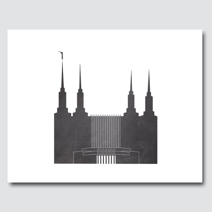 Temple Print - Washington, DC