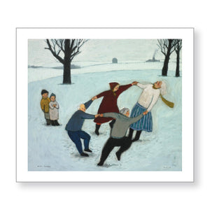 "B. Kershisnik - ""Winter Dance"" - Limited Edition"