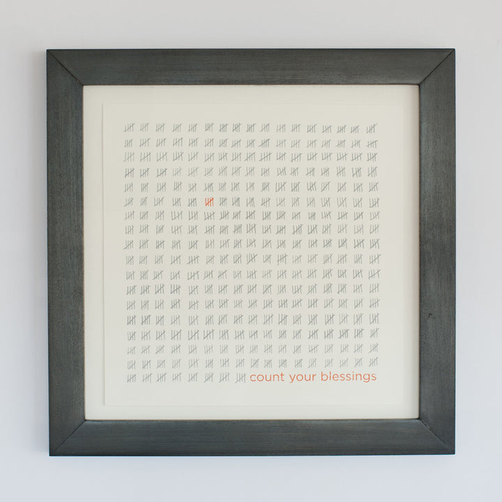 LDH Art - Count Your Blessings - Orange