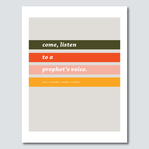 FREE Conference Download - Come, Listen to a Prophet's Voice