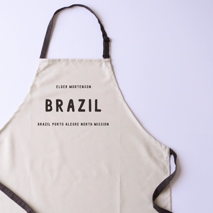 Canvas Apron - Personalized - Country