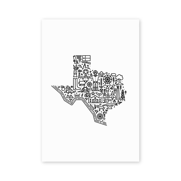 MBF - Texas Map