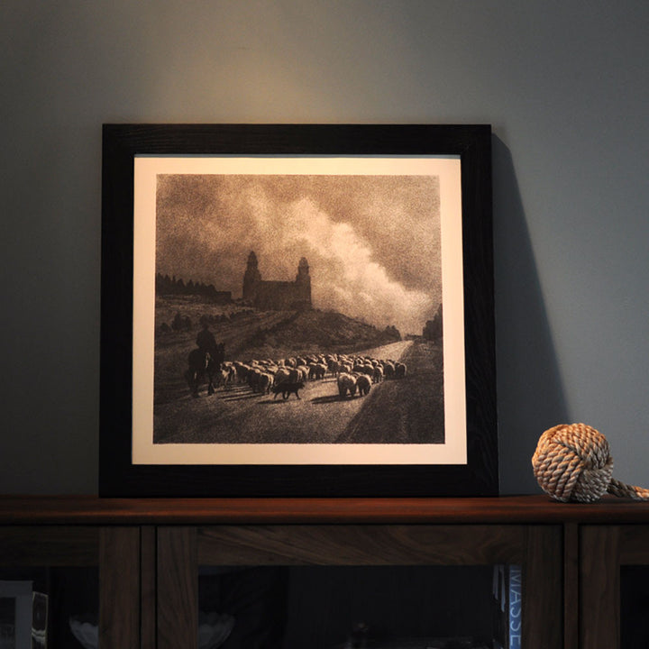 J. George Midgley - Homeward - Framed Print