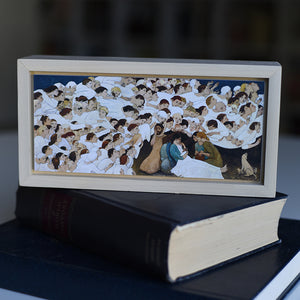 Miniatures - Kershisnik - Nativity
