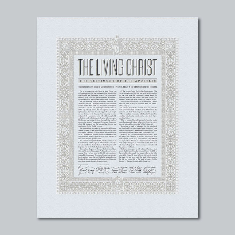 photograph relating to The Living Christ Printable referred to as Letterpress Artwork - The Dwelling Christ as a result of Peder Singleton