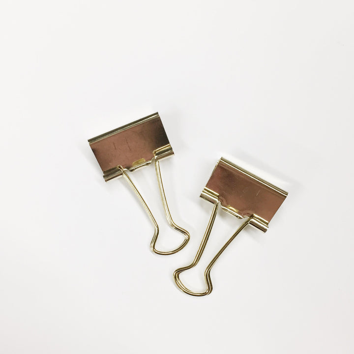 Gold Hanging Clips