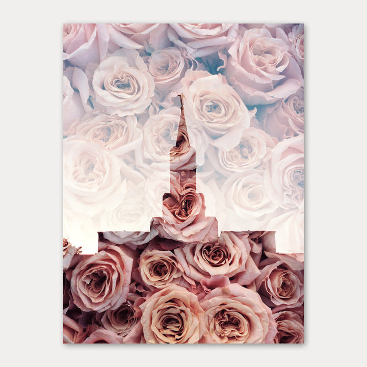 Jessica's Photography - Bountiful LDS Temple - Roses