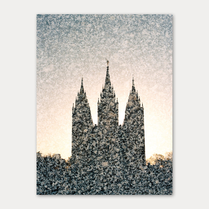 Jessica's Photography - Salt Lake LDS Temple - Temple Granite