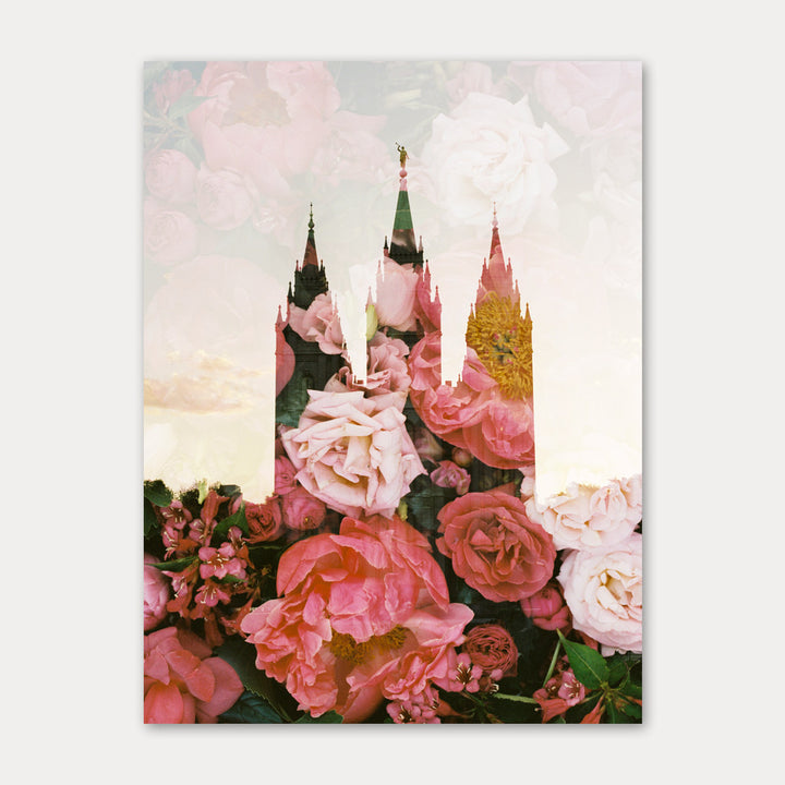 Jessica's Photography - Salt Lake LDS Temple - Peony + Rose Patch