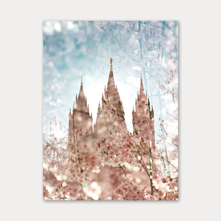 Jessica's Photography - Salt Lake LDS Temple - Spring Blooms 1