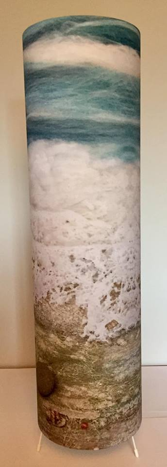 Lamp - Floor Lamp in Sea Stones