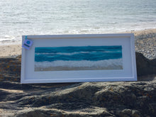 Load image into Gallery viewer, Textile Art - 96x38cm  Along the Shoreline