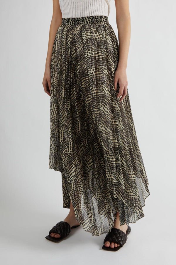 Alena Pleated Skirt