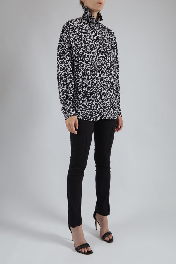 Catchelae Print Blouse
