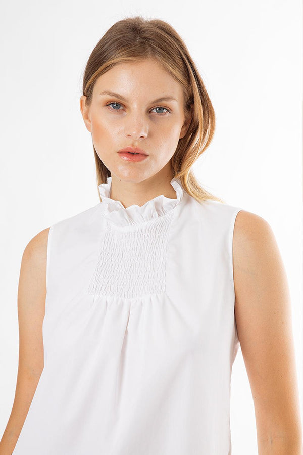 Cotton Poplin Ralph Top