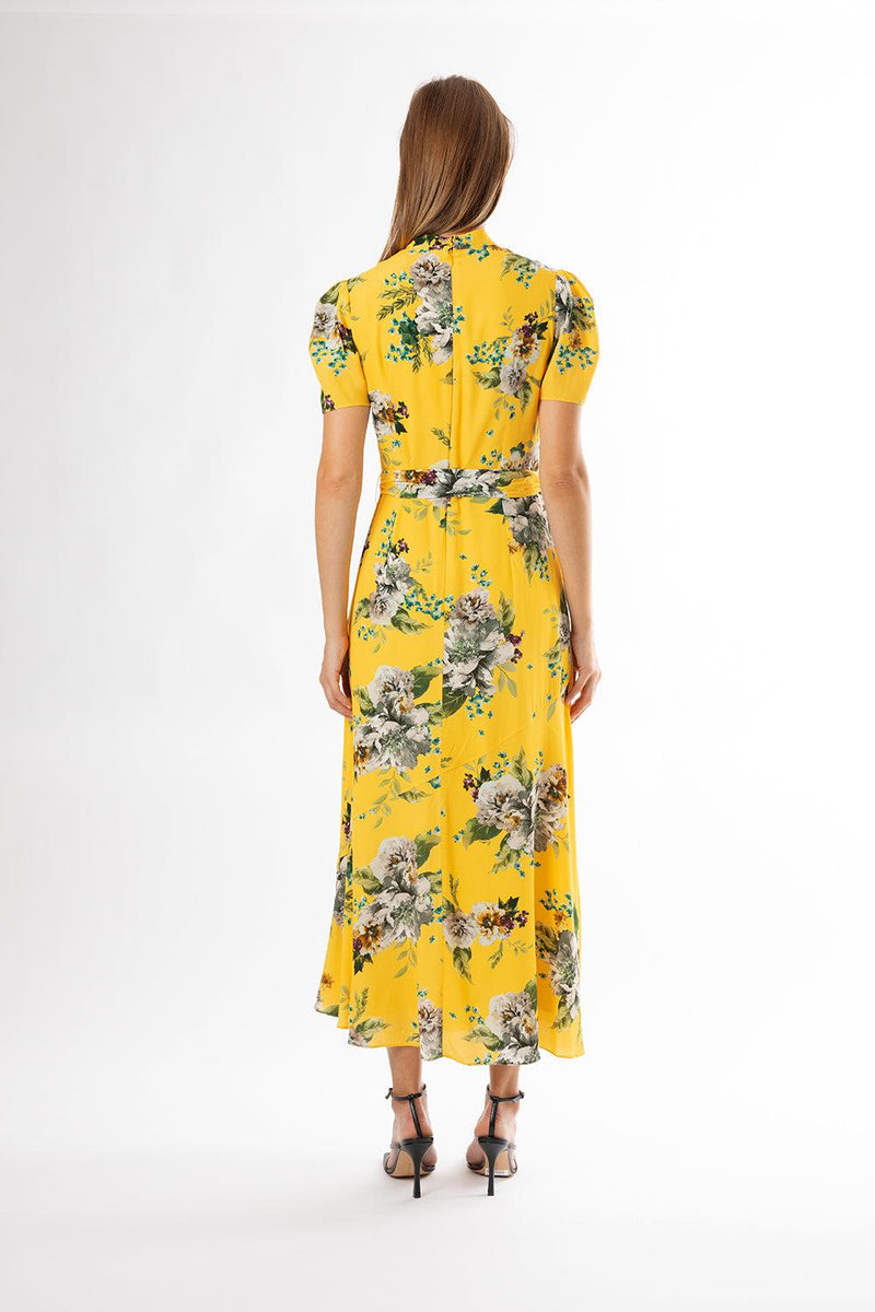 Carnation Crepe Elmer Dress