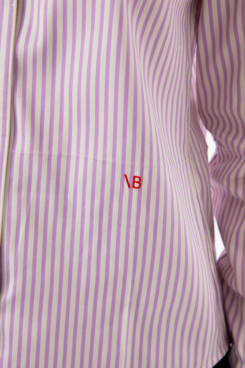 Club Collar Fitted Shirt