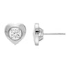 Gold Diamond Earring 1/7ctw