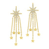 14K Diamond Earrings 1/4ctw