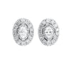 14K Diamond Earring 3/4 ctw