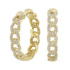 14K Diamond Earring 1/2 ctw