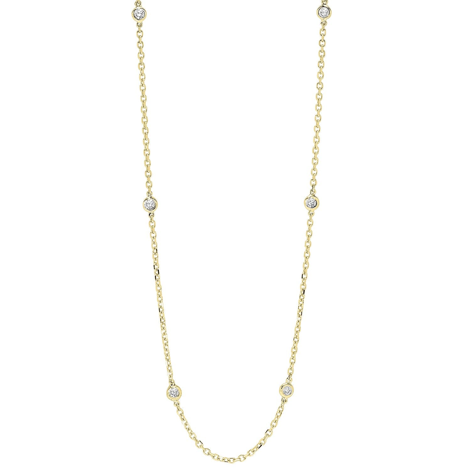 14K D.B.T.Y 1/4ctw Necklace