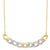 14K Diamond Necklace 1/3 ctw