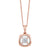 Gold Diamond Pendant 1/7ctw