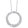 14K Diamond Pendant 3/8 ctw