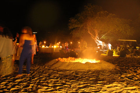 Dolly Beach at Night Mustique