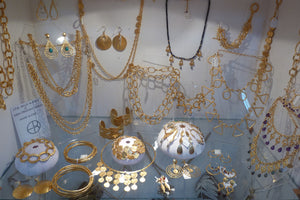 jewellery by Evelyn Knight in the Pink House