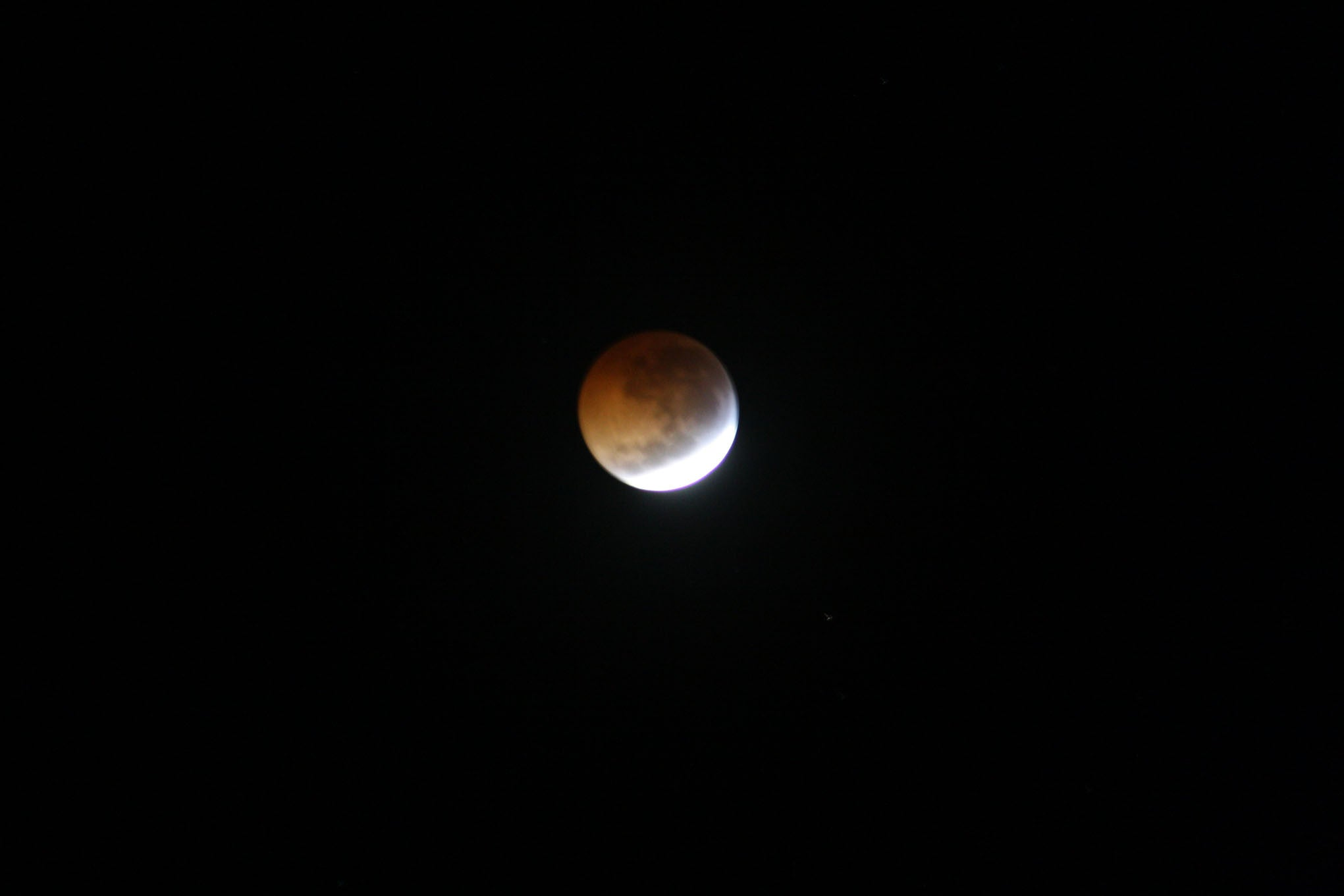 eclipse of the moon Mustique