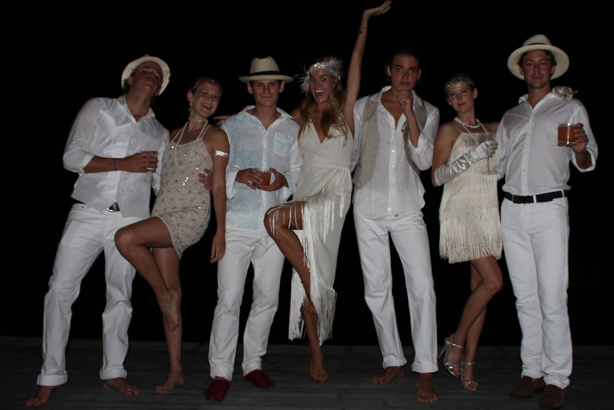 Great Gatsby Mustique Style