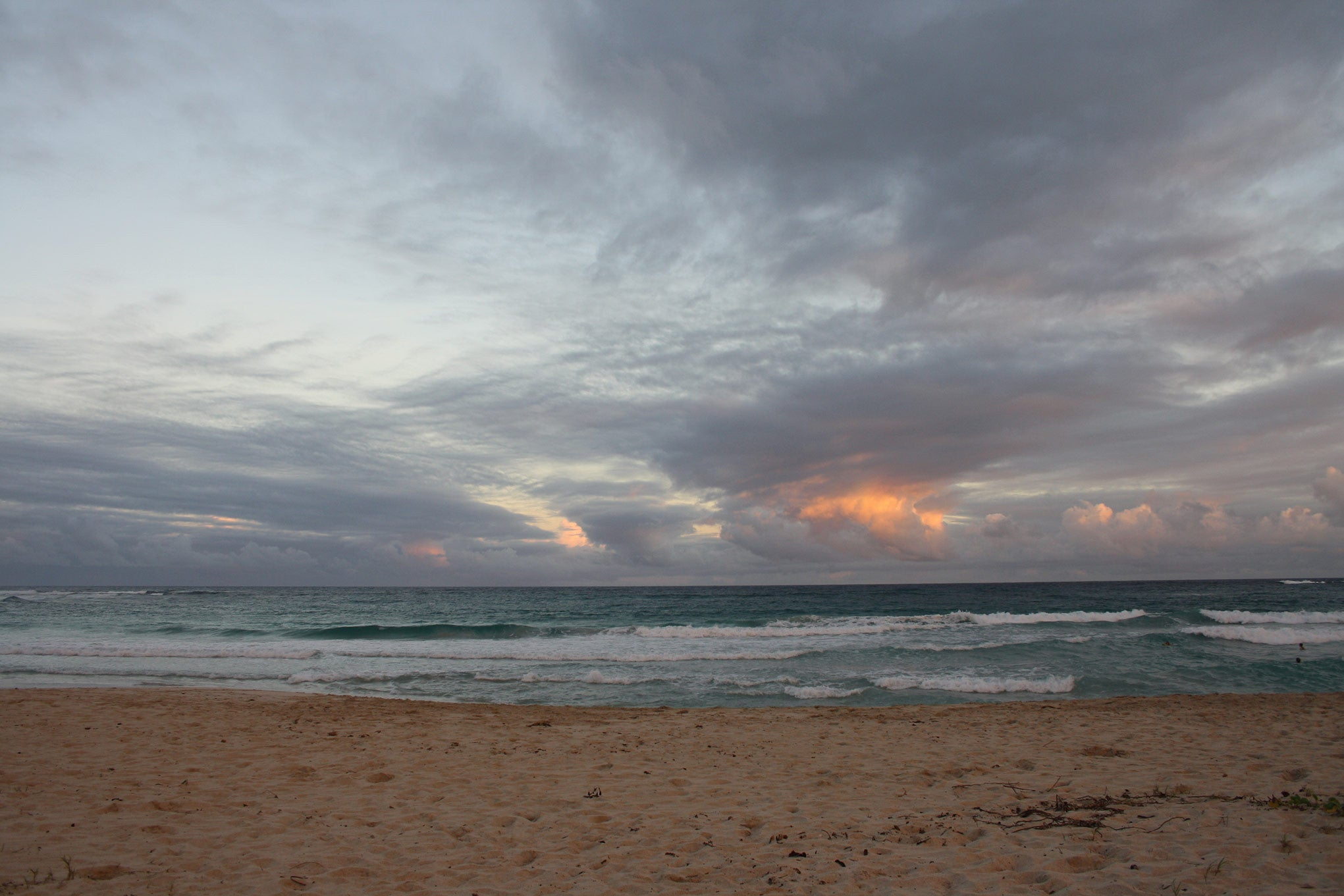 Sunset at Pasture Bay Mustique