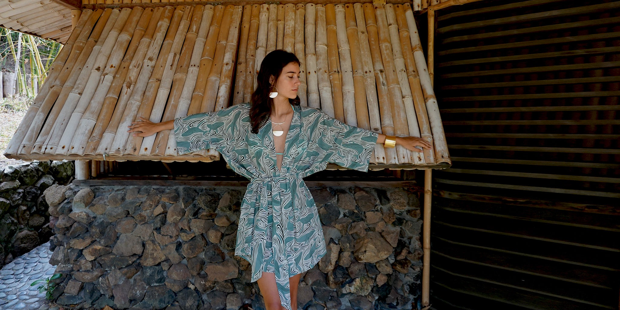 Discover the beauty of luxurious silks that you can wear from bed to beach. This exciting new line from Lotty B includes matching collections of tops, shorts & robe.