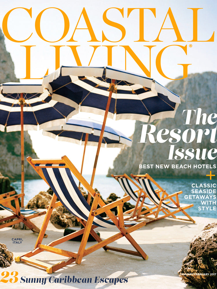 Coastal Living magazine Jan/Feb 2017