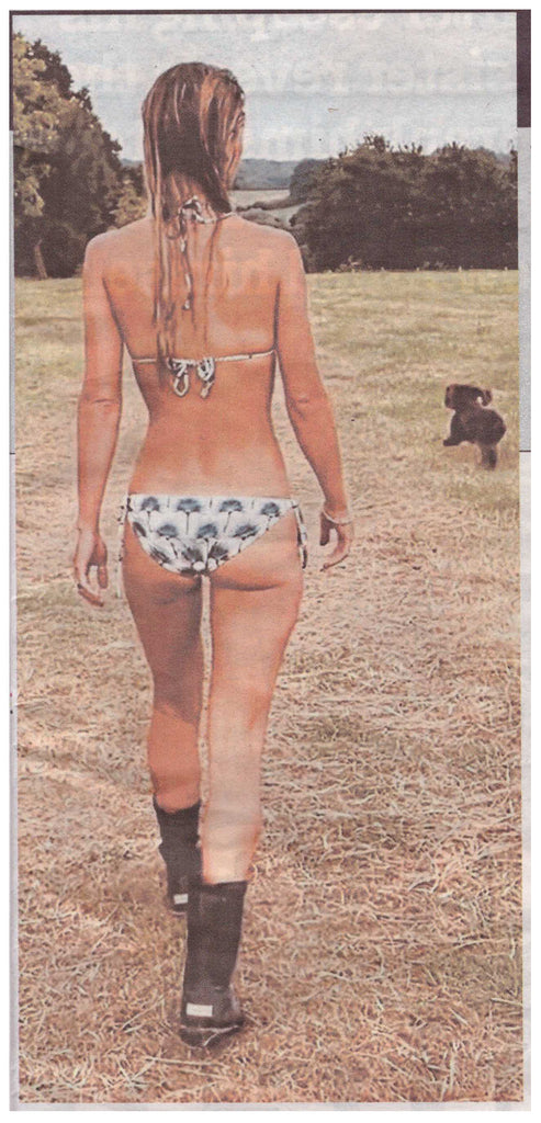 Alizee Thevenet enjoying her moment in the sun. Daily Mail 19th September 2020