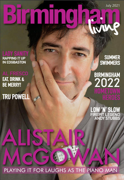 Birmingham Living July 2021 front cover