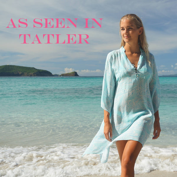 Lotty B whale kaftan in TATLER