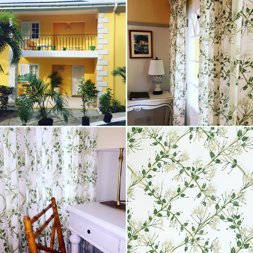 Collage of Cotton House Lotty B interiors