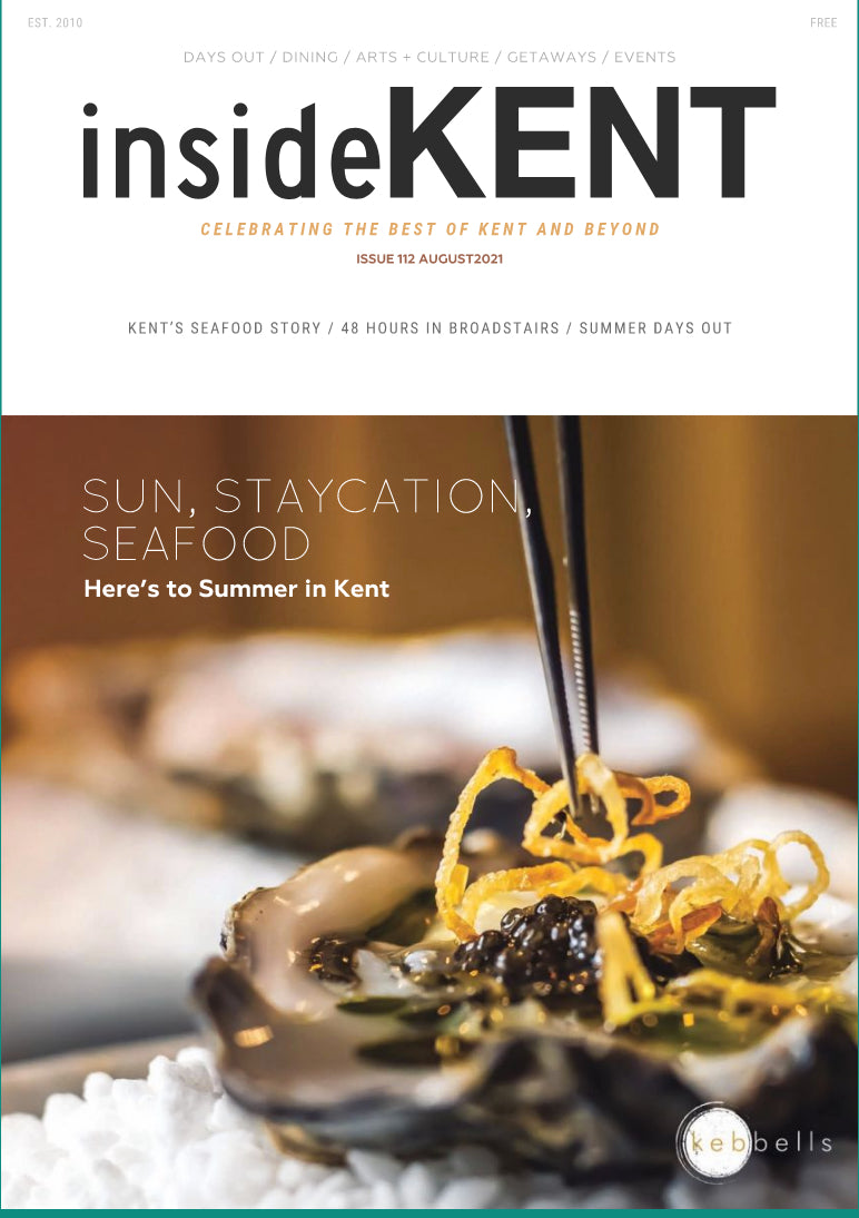 Inside Kent August 2021 front cover