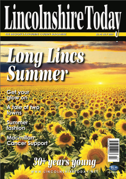 Lincolnshire Today July 2021 front cover
