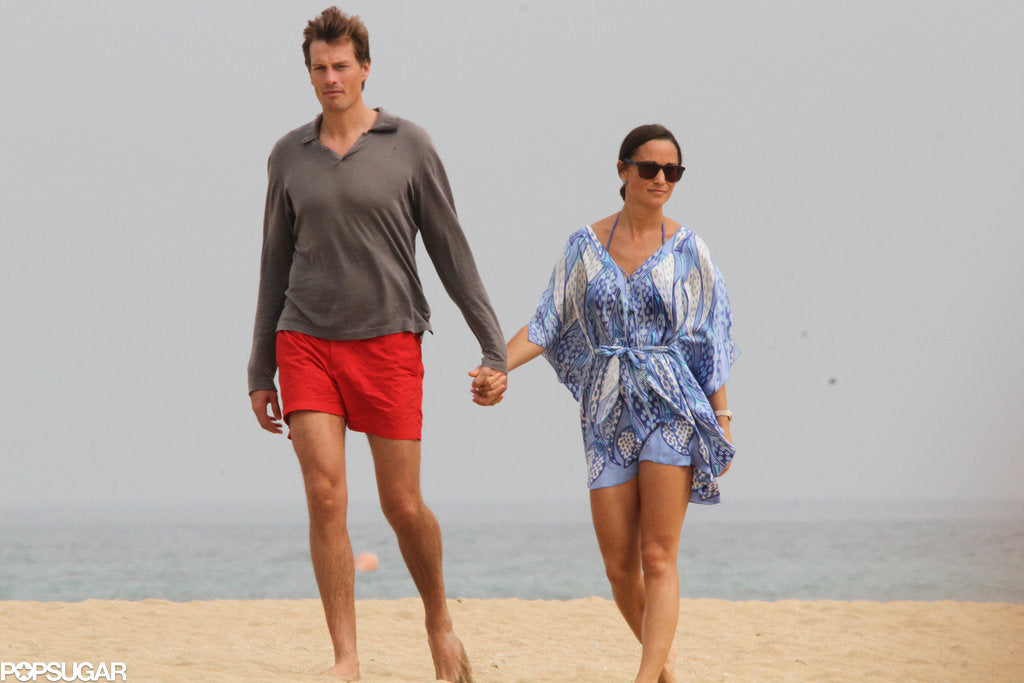Pippa Middleton wears Lotty B leaves kaftan