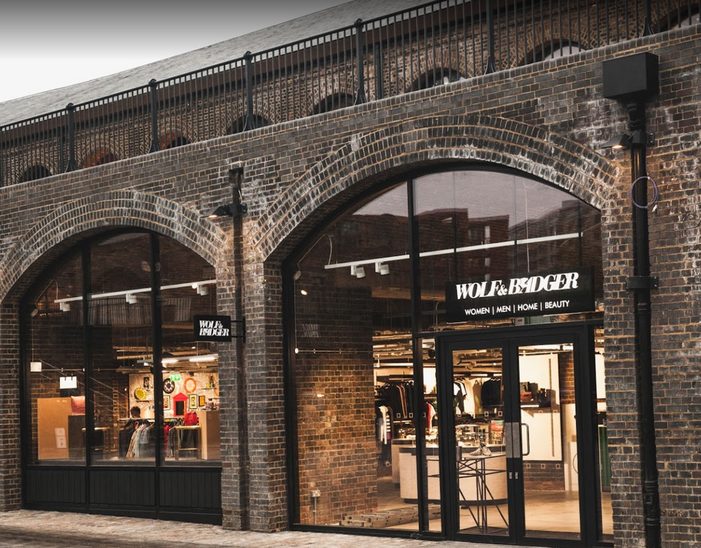 Wolf and Badger Kings Cross London store